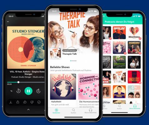 Podimo podcast app